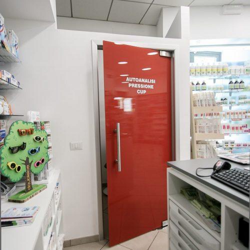 Progetto Farmacia Vista Porta Rossa Sala Autoanalisi