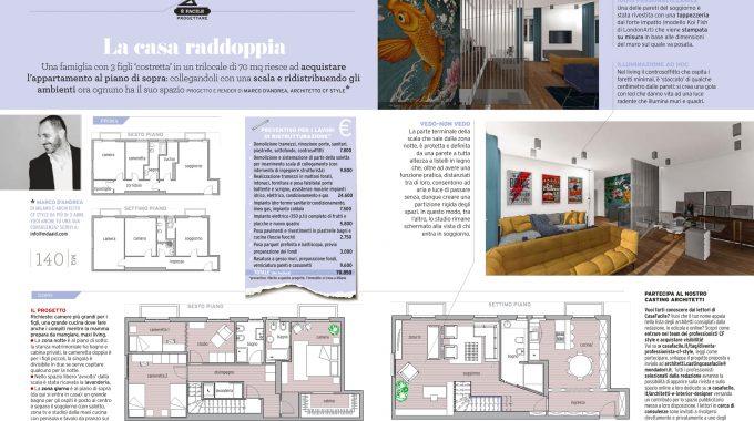 Progetto Architetto Marco Dandrea Ristrutturazione Casa Facile Settembre 2018